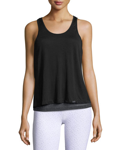 Shift Split-Back Sleeveless Top