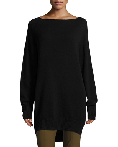 Boatneck Sweater Dress
