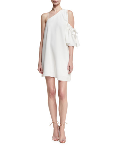 Gemini Asymmetric Shift Dress