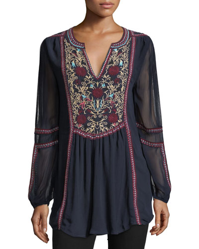 WMNS BRANDY BOHO EASY TUNIC
