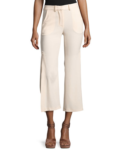 Audrey Side-Slit Flared Pants