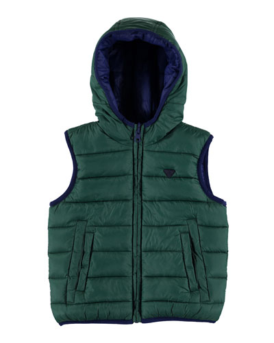 Padded Reversible Vest, Size 3-7