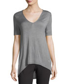 V-Neck Sweater Tee