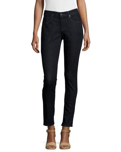 Organic Soft Stretch Skinny Jeans, Vintage Black, Plus Size
