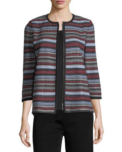 Primary Lines Jacket, Plus Size