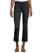The Jodi High-Rise Slim Flare Crop Jeans
