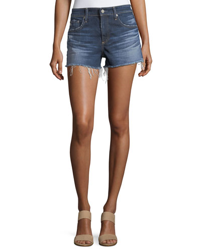 The Bryn Relaxed Cutoff Denim Shorts