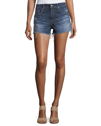 The Bryn Relaxed Cutoff Denim Shorts