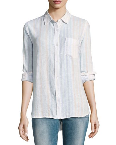 Charli Striped Linen Shirt
