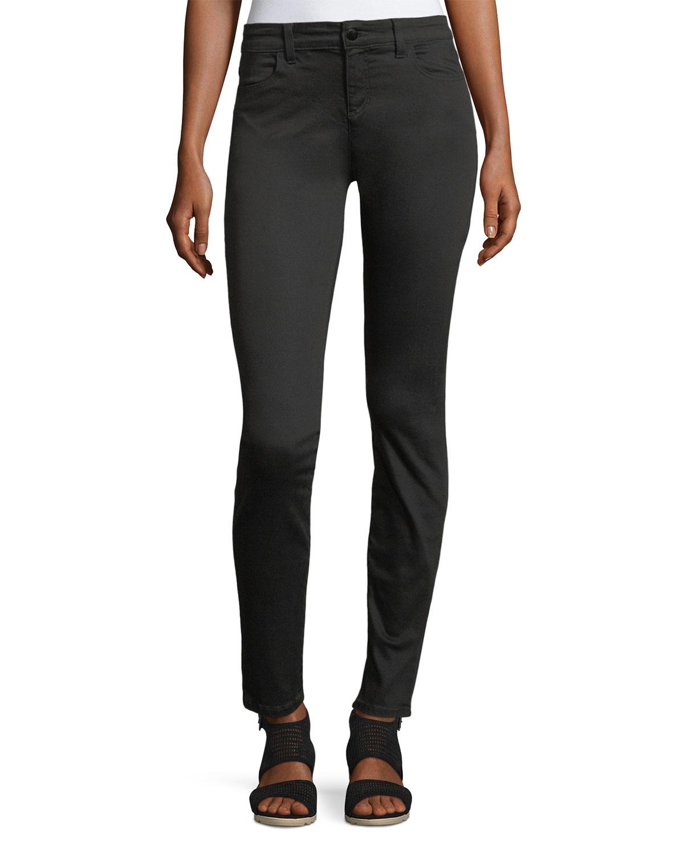 Organic Cotton/Lyocell Legging Jeans, Petite