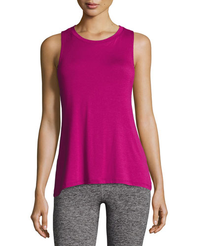 Slink Or Swim Open-Back Tank Top
