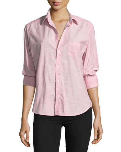 Eileen Striped Button-Front Shirt
