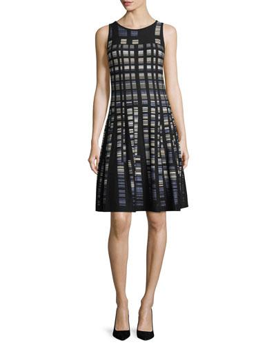 Crystal Cove Twirl Dress, Petite