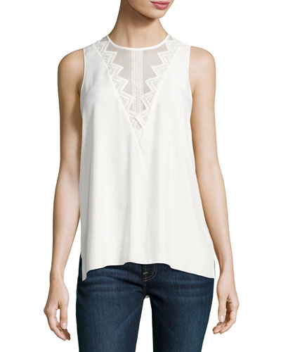 Betty Sleeveless Crochet Top