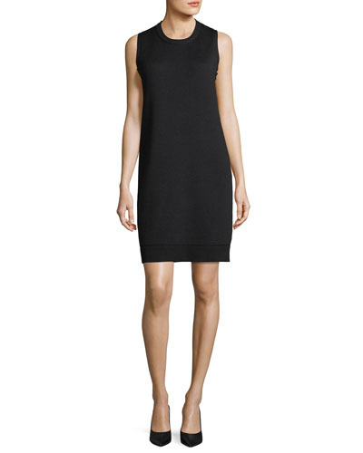 Esmay Sleeveless Stretch-Wool Dress