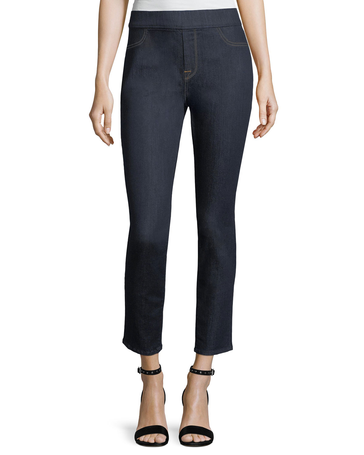 Riche Touch Rinsed Night Comfort Skinny Ankle Jeans