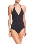 Havana Deep V Maillot One-Piece Swimsuit