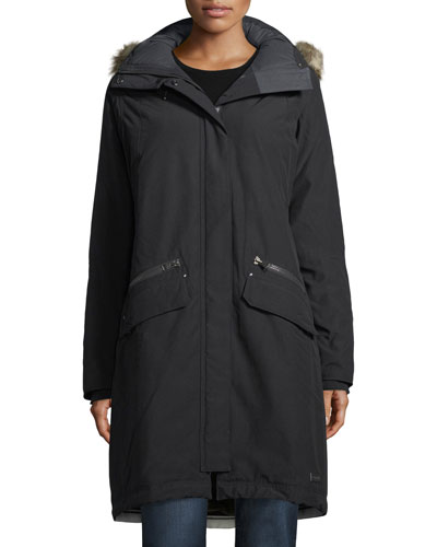 Joan of Arctic II Parka Jacket w/ Faux Fur