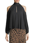 Dieda Cold-Shoulder Top