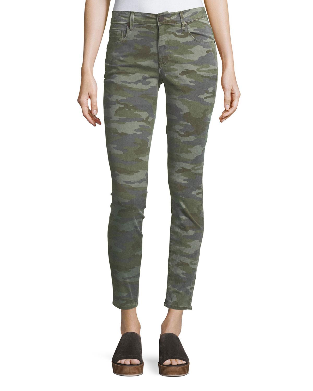 Ava Camo Skinny Jeans