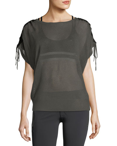 Sea Breeze Mesh Performance Sweater