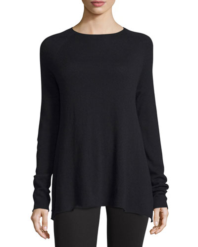Banny Long-Sleeve A-Line Sweater