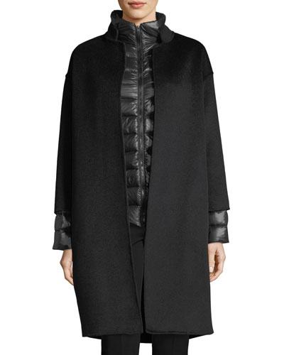 Cashmere Blend Wool Coat Neiman Marcus