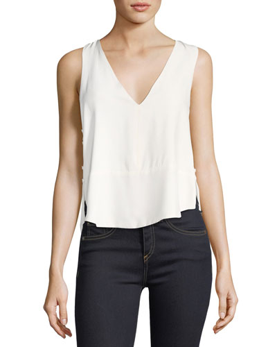 Double Layer Racerback Camisole Top