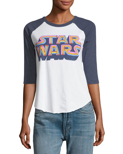 Technicolor Star Wars Raglan Graphic Tee