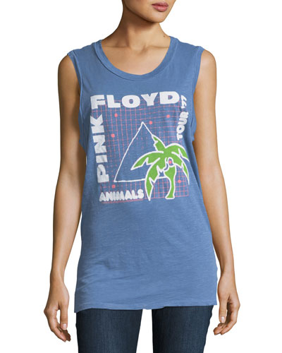 Pink Floyd Animals Tour Graphic Muscle Tank