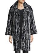 Faux-Fur Easy Coat