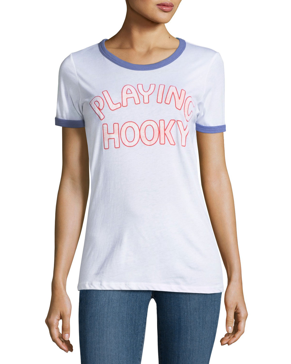 Playing Hooky Graphic Tee