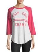 Flip Cup Champ Raglan Tee