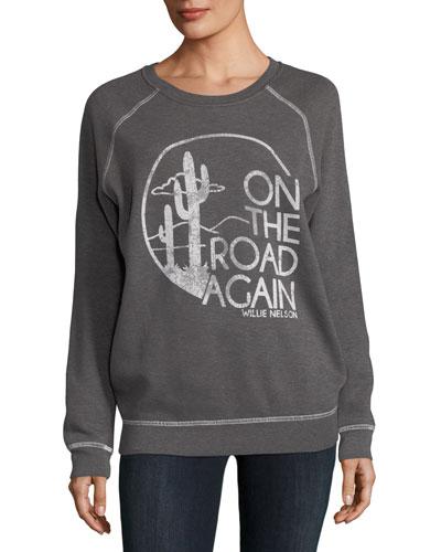 On the Road Again Graphic Sweatshirt