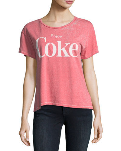 Enjoy Coke Graphic Tee