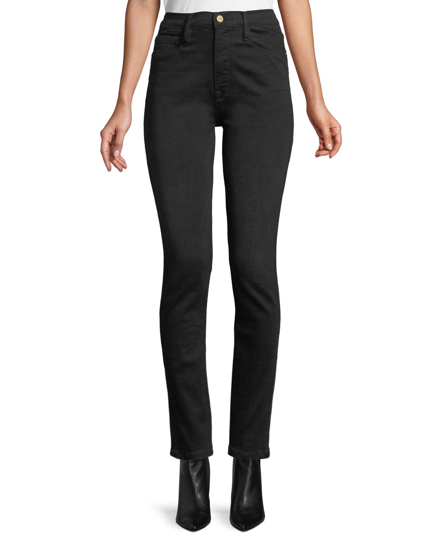 Frame Jeans ALI HIGH-RISE SKINNY CIGARETTE JEANS
