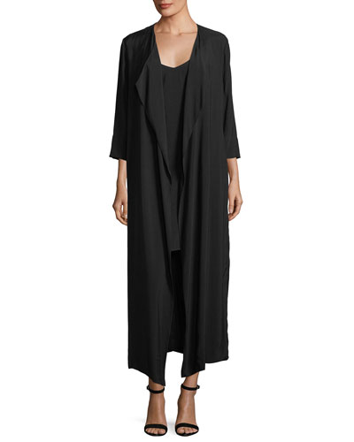 Cassini Mini Slip Dress w/ Duster