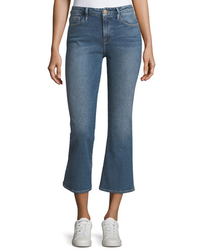 Le Crop Mini Boot Mid-Rise Jeans