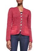 Bay Breeze Multi-Button Cardigan, Plus Size