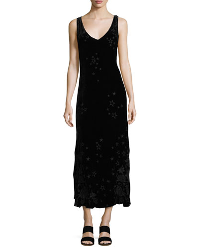 Roberta Velvet Maxi Dress, Plus Size