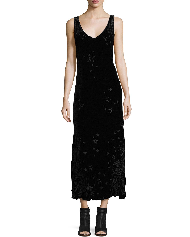 Roberta Velvet Maxi Dress