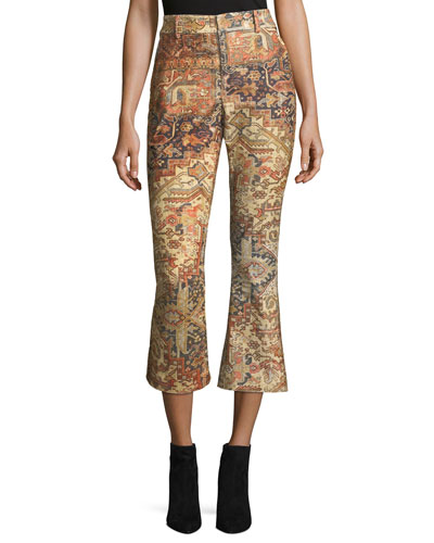 Persian Printed Flared Pants