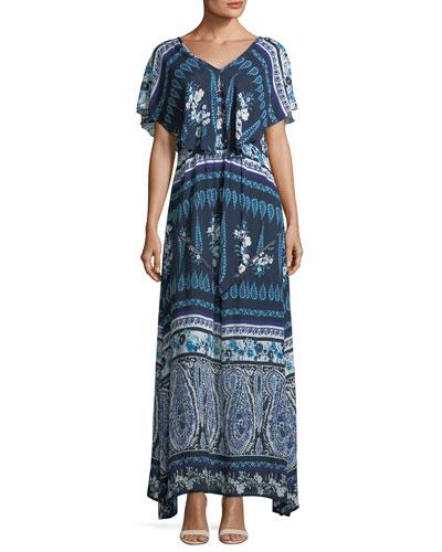 Luisa Popover Maxi Dress