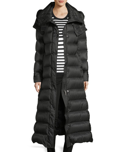 Kanefield Extra Long Slim Puffer Coat