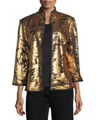 Matte Sequin Burst Jacket