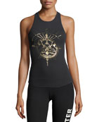 Excite Your Spirit Rib-Knit Racerback Tank