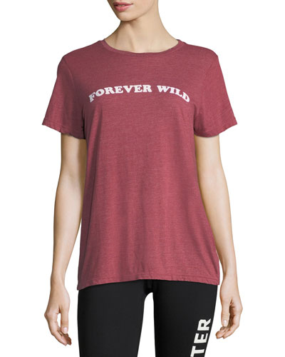 Rec Forever Wild Short-Sleeve Jersey Tee