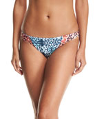 Malibu Fit Mix-Print Swim Bottom