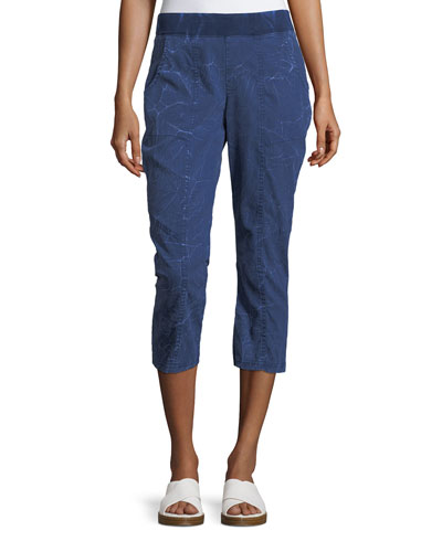 Bridie Summer Twill Crop Pants