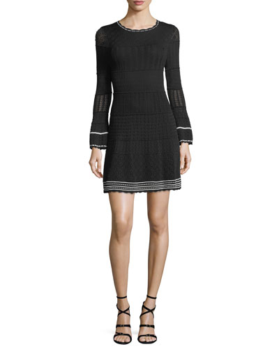 Colinton Long-Sleeve Knit Dress